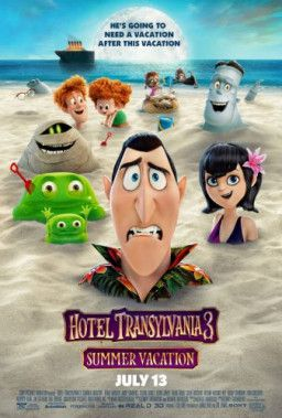 Монстры на каникулах 3: Море зовёт / Hotel Transylvania 3: Summer Vacation (2018) HDTVRip 720p | Чистый звук