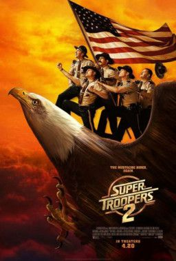 Суперполицейские 2 / Super Troopers 2 (2018) BDRip | HDRezka Studio