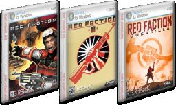 Red Faction Collection PC Red Faction, Red Faction 2, Red Faction: Guerrilla