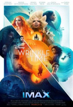 Излом времени / A Wrinkle in Time (2018) CAMRip 720p