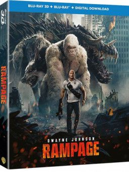 Рэмпейдж / Rampage (2018) BDRip 1080p | 3D-Video | halfOU | Лицензия