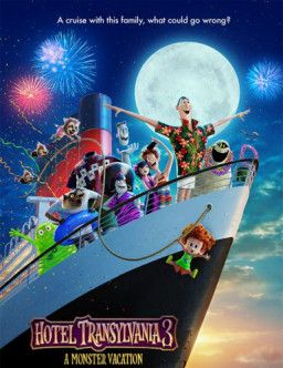 Монстры на каникулах 3: Море зовёт / Hotel Transylvania 3: Summer Vacation (2018) BDRip 720p | iTunes