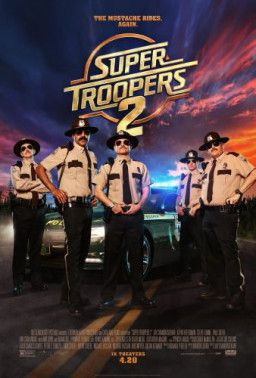 Суперполицейские 2 / Super Troopers 2 (2018) BDRip 1080p | HDRezka Studio
