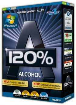 Alcohol 120% 2.0.1 Build 2033 Retail (2011) PC